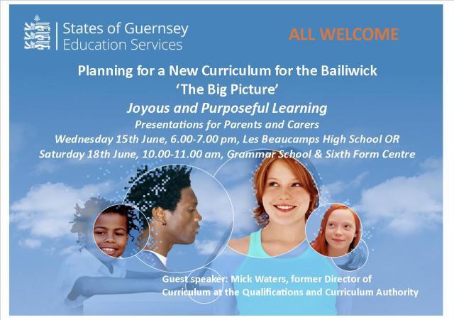 Parents Carers Big Curriculum invite